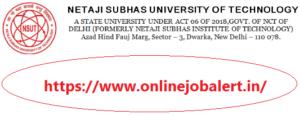 Non-Teaching Staff Recruitment 2021